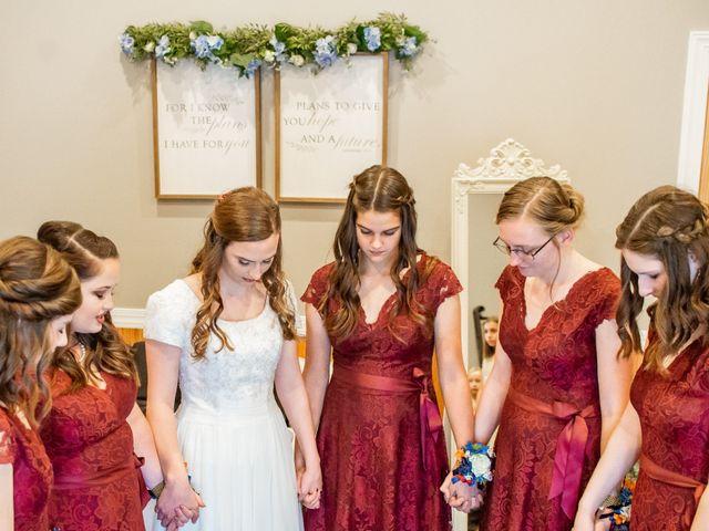 Justin and Morgan's Wedding in Staley, North Carolina 2