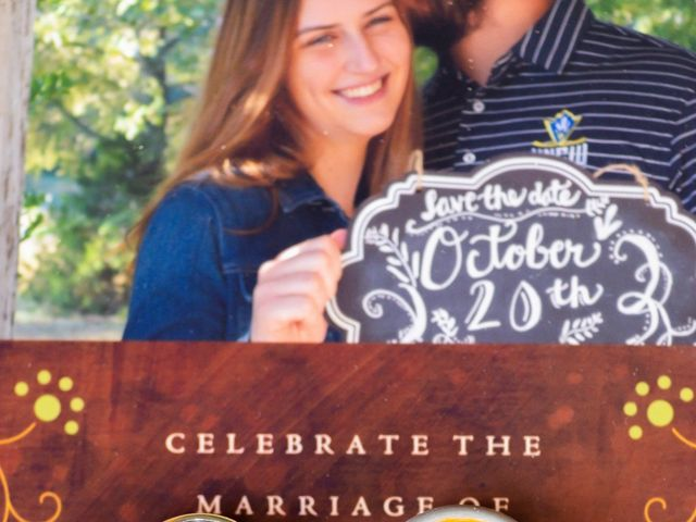 Justin and Morgan's Wedding in Staley, North Carolina 10