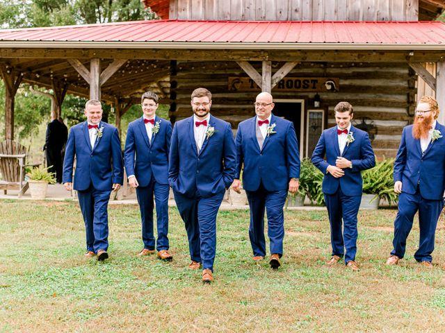 Justin and Morgan's Wedding in Staley, North Carolina 11