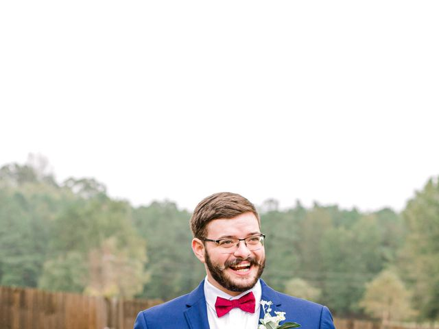 Justin and Morgan's Wedding in Staley, North Carolina 15