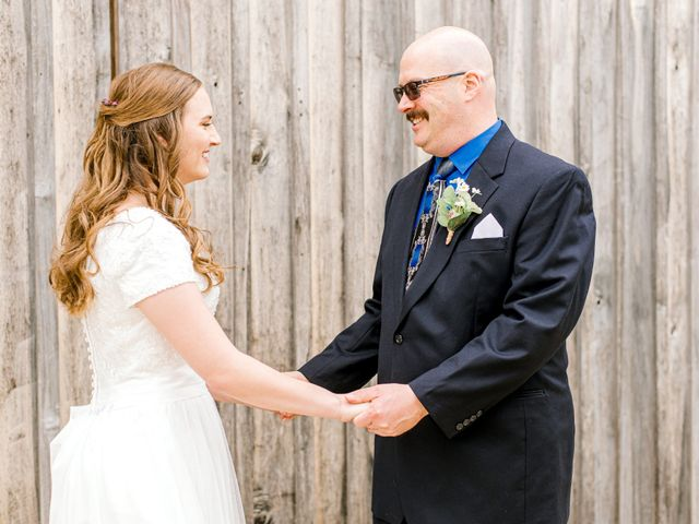 Justin and Morgan's Wedding in Staley, North Carolina 17