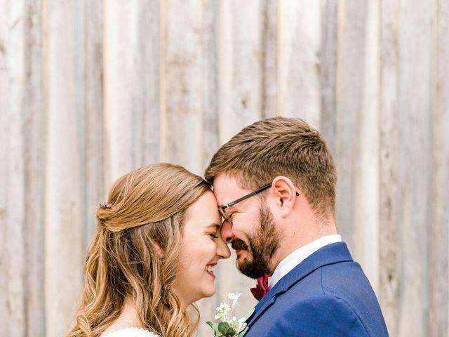 Justin and Morgan's Wedding in Staley, North Carolina 18