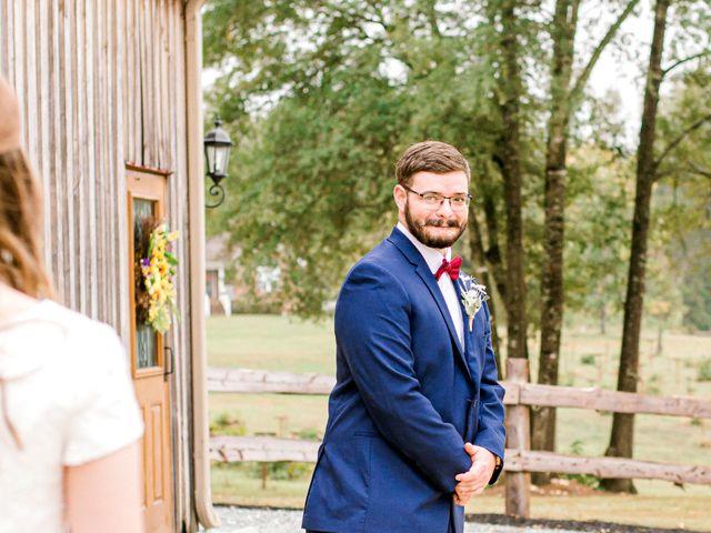 Justin and Morgan's Wedding in Staley, North Carolina 19