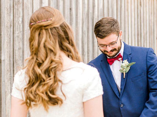 Justin and Morgan's Wedding in Staley, North Carolina 20