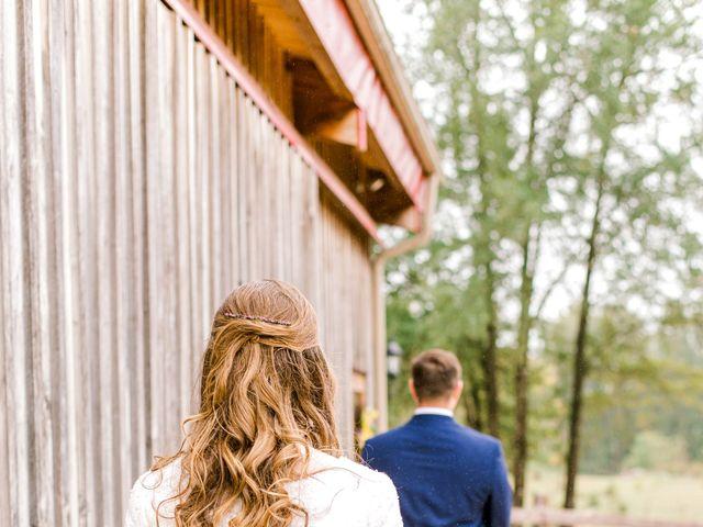 Justin and Morgan's Wedding in Staley, North Carolina 21