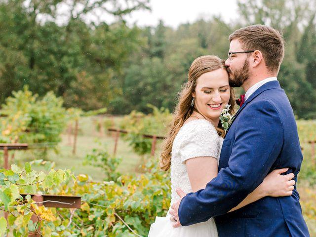 Justin and Morgan's Wedding in Staley, North Carolina 23