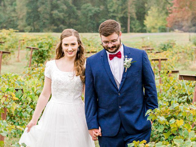 Justin and Morgan's Wedding in Staley, North Carolina 24