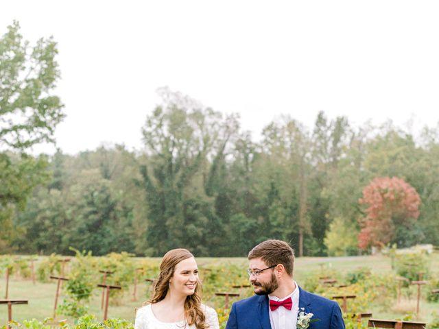 Justin and Morgan's Wedding in Staley, North Carolina 25