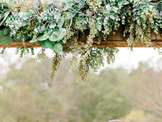 Justin and Morgan's Wedding in Staley, North Carolina 1