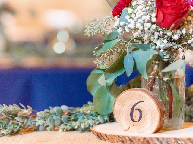 Justin and Morgan's Wedding in Staley, North Carolina 28