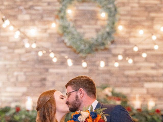 Justin and Morgan's Wedding in Staley, North Carolina 29