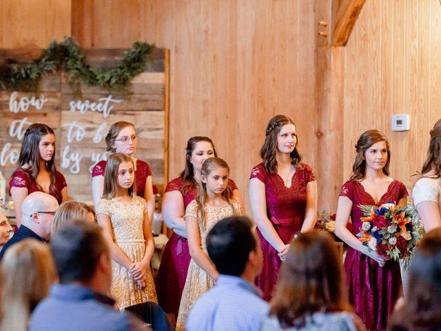 Justin and Morgan's Wedding in Staley, North Carolina 31