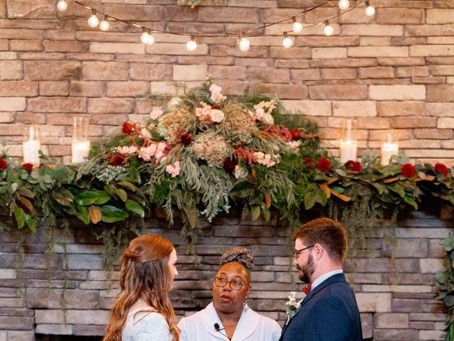 Justin and Morgan's Wedding in Staley, North Carolina 32