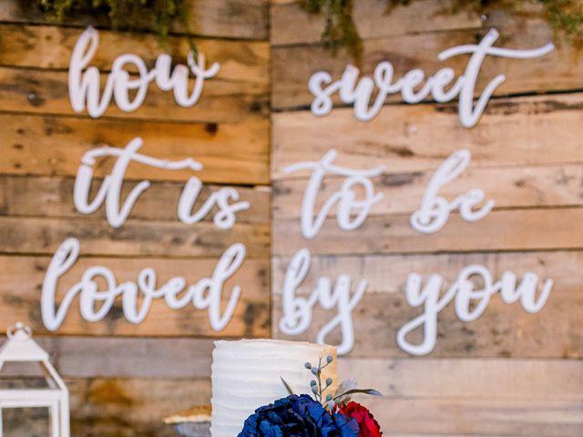 Justin and Morgan's Wedding in Staley, North Carolina 34