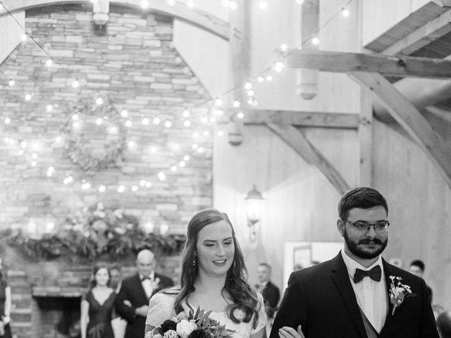 Justin and Morgan's Wedding in Staley, North Carolina 36