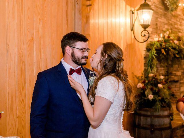 Justin and Morgan's Wedding in Staley, North Carolina 42