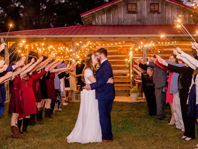 Justin and Morgan's Wedding in Staley, North Carolina 43