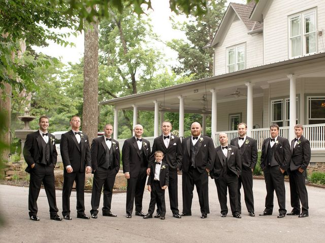 Jessica and James's Wedding in Fayetteville, Arkansas 7