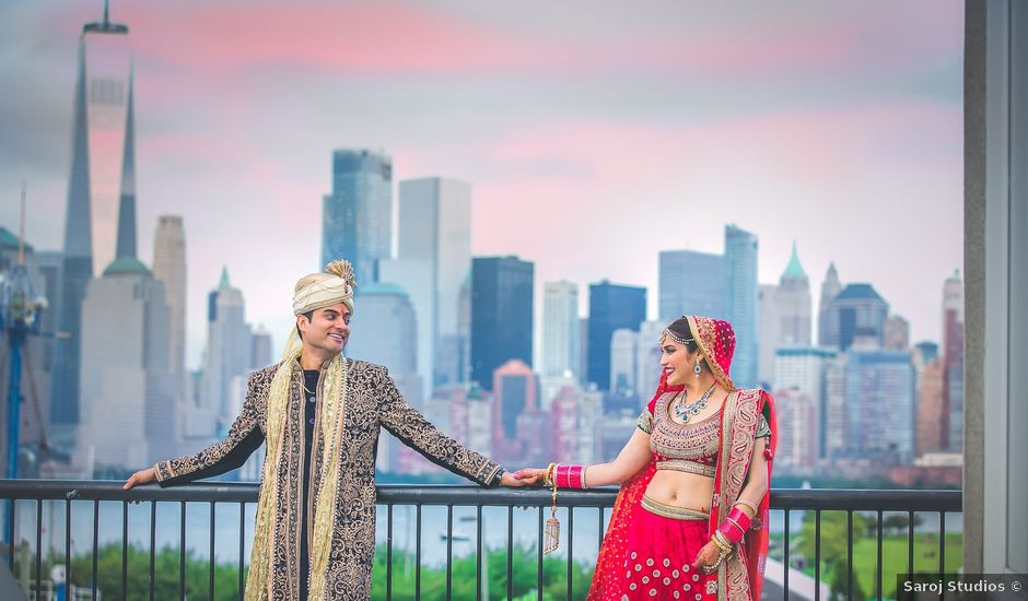 Rishi and Rashmi's Wedding in Jersey City, New Jersey