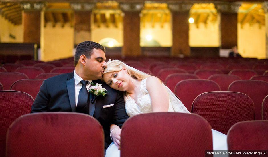 Gabe and Victoria's Wedding in Lansdowne, Pennsylvania