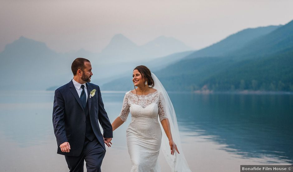 Adam and Patricia's Wedding in Kalispell, Montana