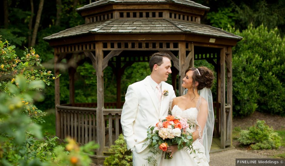 Andrew and Aja's Wedding in Mount Pleasant, Pennsylvania