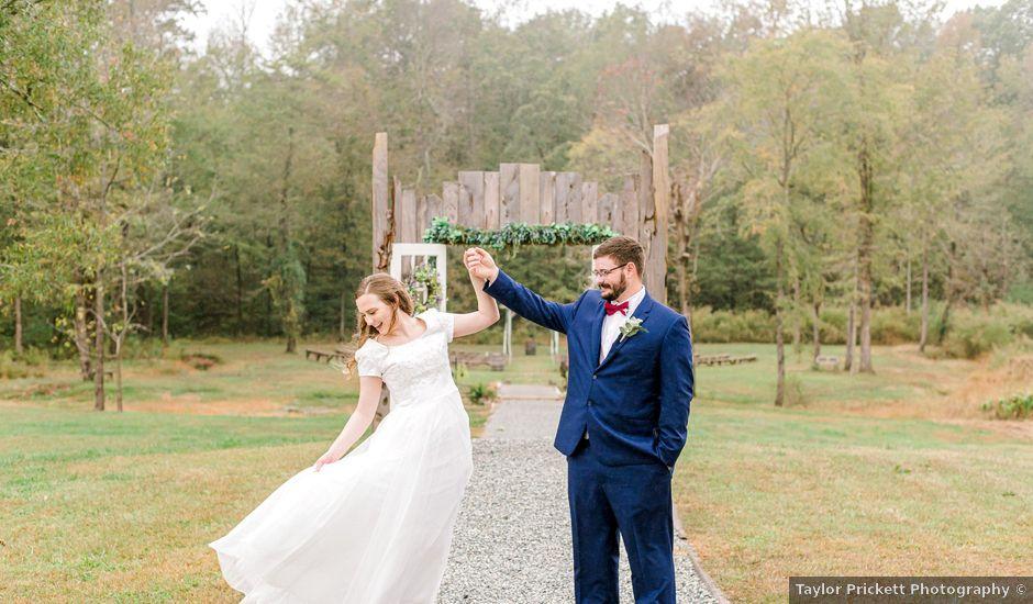 Justin and Morgan's Wedding in Staley, North Carolina