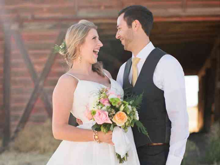 The wedding of Caleb and Beth