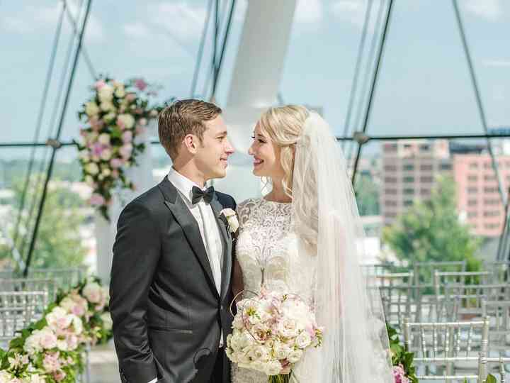 The wedding of Brittany and Ryan