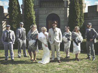 The wedding of Christina and Michael