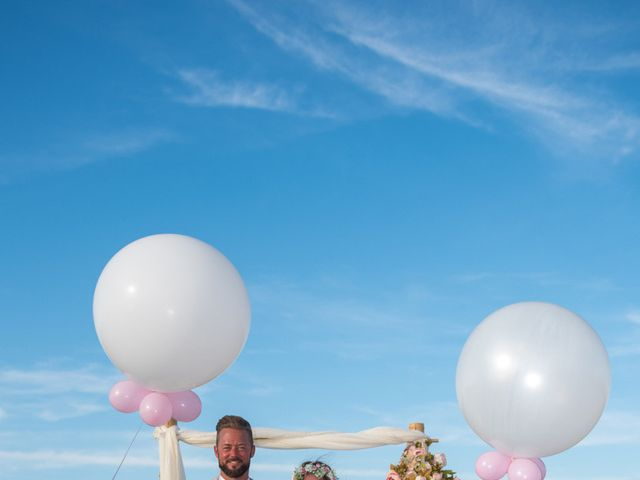 John and Anna's Wedding in Santorini, Greece 3