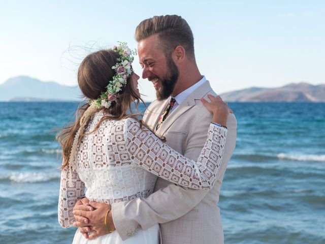 John and Anna's Wedding in Santorini, Greece 5