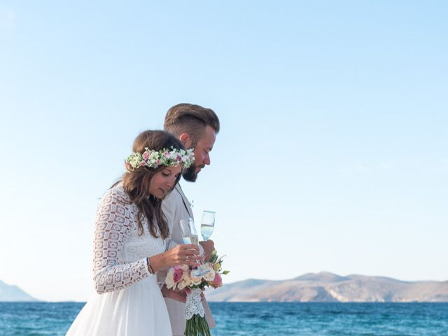 John and Anna's Wedding in Santorini, Greece 6