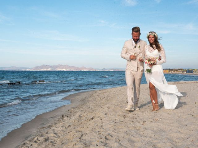 John and Anna's Wedding in Santorini, Greece 7