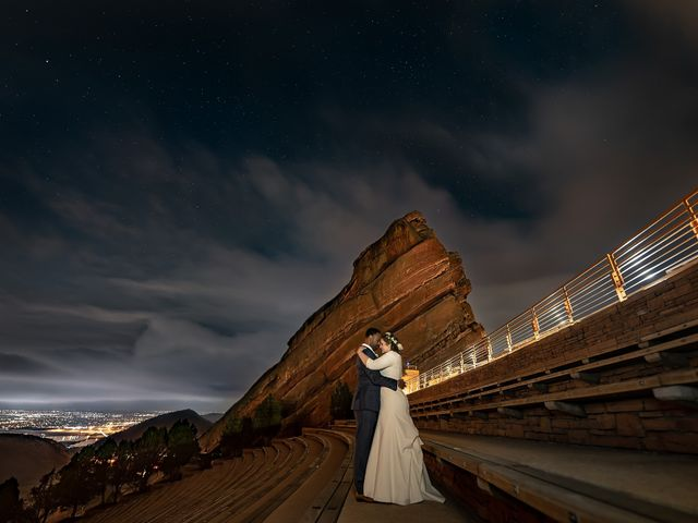 The wedding of Lauren and Milton