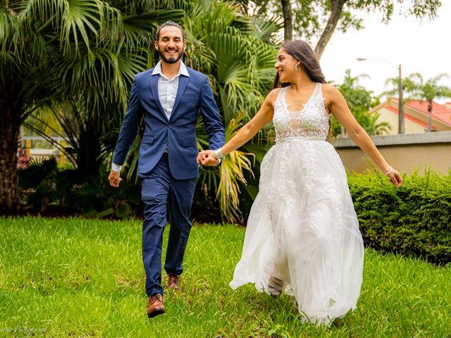 The wedding of Alexandra and Felix
