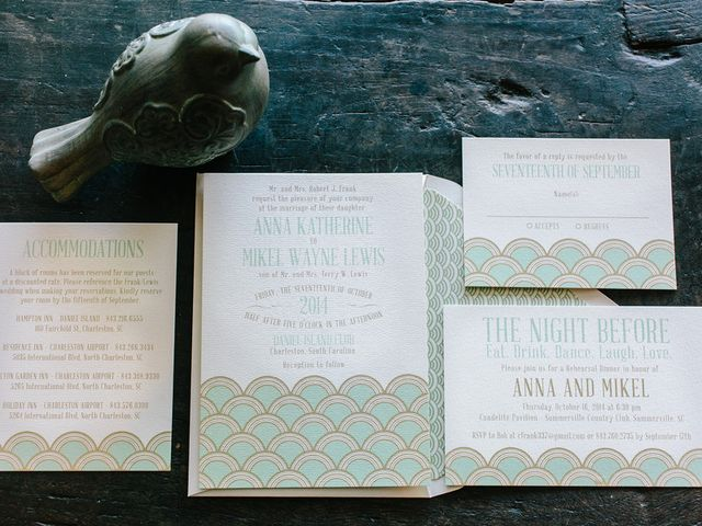 Anna and Mikel's wedding in South Carolina 1