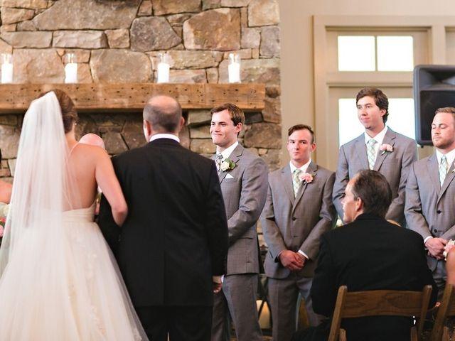 Carleigh and Connor's Wedding in Crozet, Virginia 9