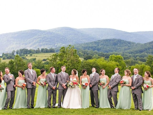 Carleigh and Connor's Wedding in Crozet, Virginia 13