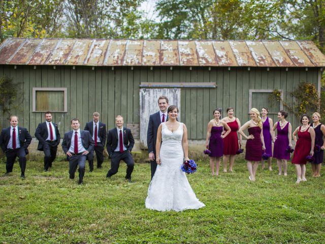 Chrissy and Matt's Wedding in Sperryville, Virginia 8