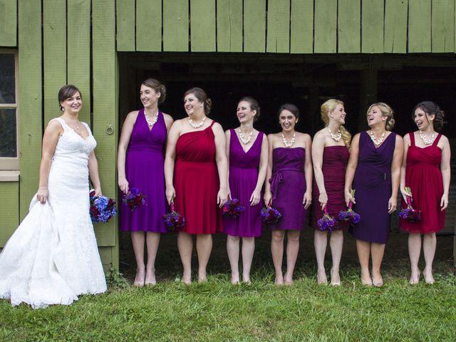 Chrissy and Matt's Wedding in Sperryville, Virginia 4