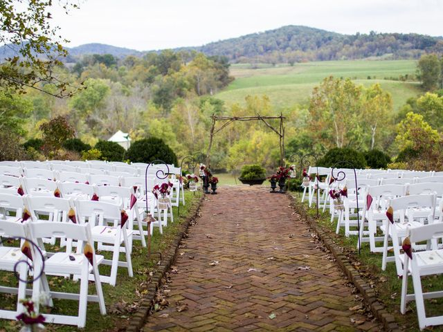 Chrissy and Matt's Wedding in Sperryville, Virginia 10