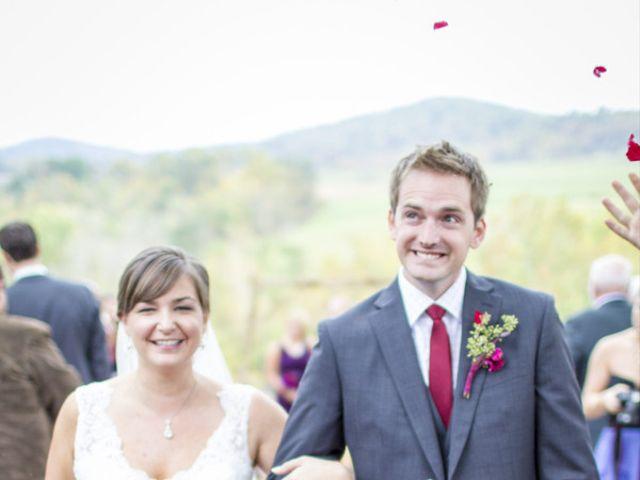 Chrissy and Matt's Wedding in Sperryville, Virginia 12
