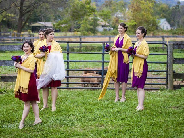 Chrissy and Matt's Wedding in Sperryville, Virginia 9