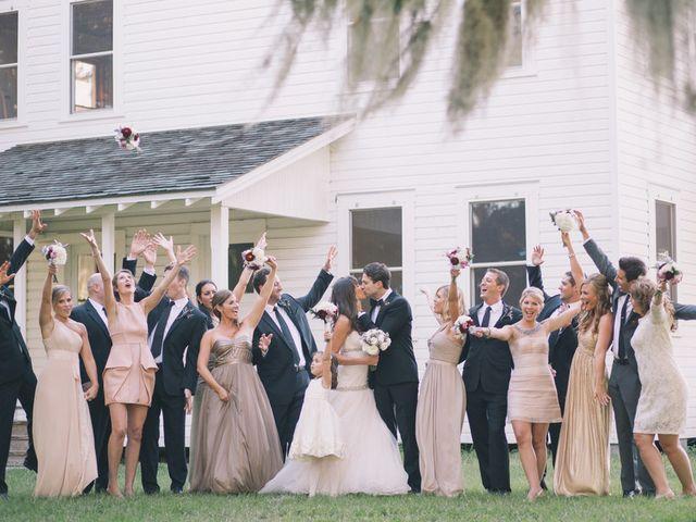 Merri and Peter's wedding in Florida 10