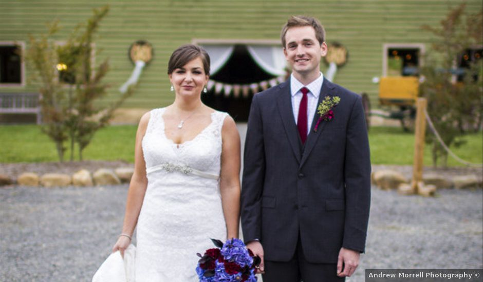 Chrissy and Matt's Wedding in Sperryville, Virginia