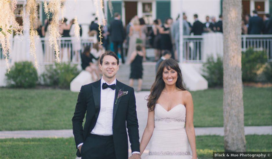 Merri and Peter's wedding in Florida