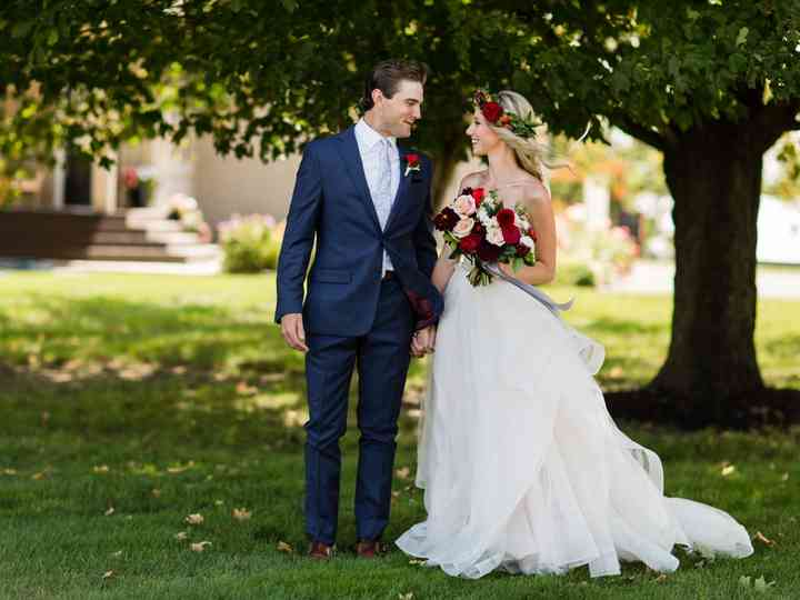 The wedding of Courtney and Blake