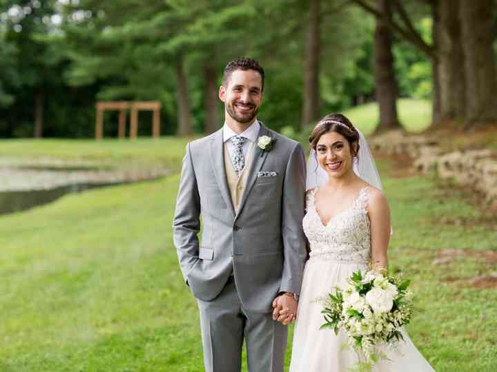 The wedding of Nelle and Jake