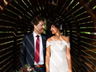 The wedding of Emily and Will